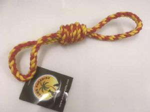 Red + Yellow Rope Loop Tugger
